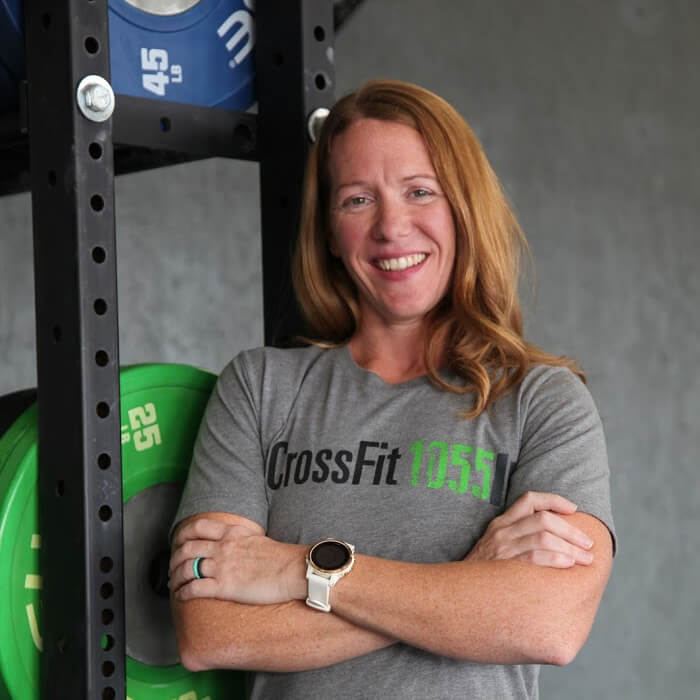 Amber Burdge CrossFit1055 Owner and Coach
