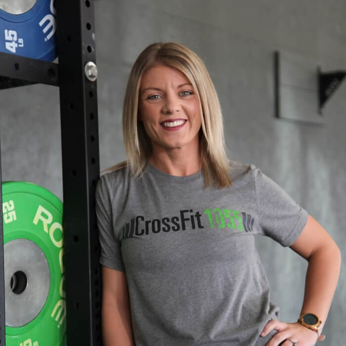 Jennifer Porritt CrossFit1055 Coach